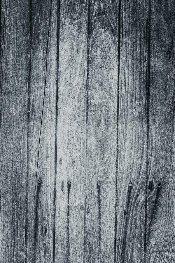 Vecchi modelli naturali di legno di vista superiore della superficie della tavola in bianco e nero fotografie stock libere da diritti