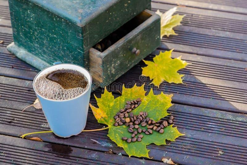 Vecchi mulini di caffè fotografia stock libera da diritti