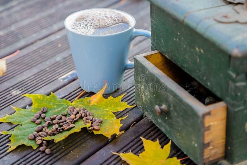 Vecchi mulini di caffè fotografie stock