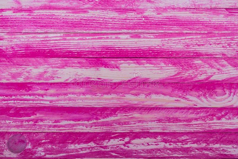 Vecchi o pannelli d'annata rosa di legno di stile fotografia stock