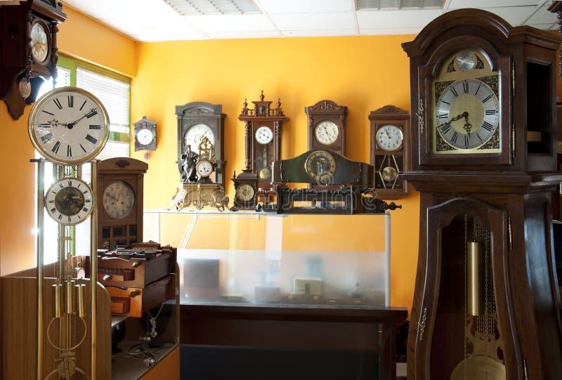Vecchi orologi antichi fotografia stock libera da diritti