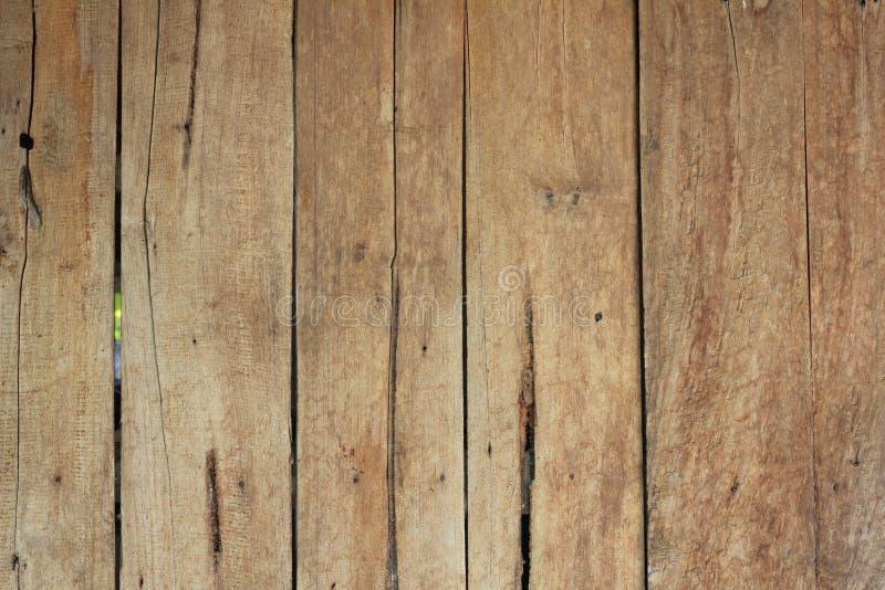 Vecchi pannelli di legno collegati insieme fotografia stock