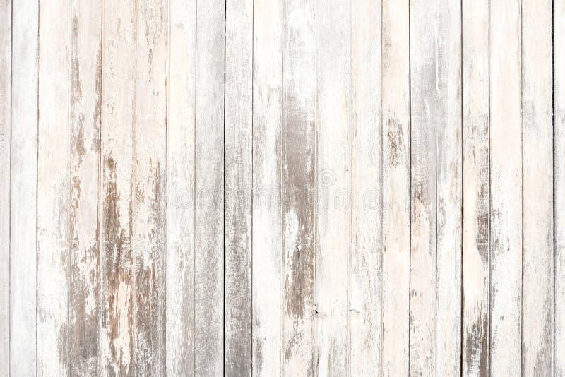 Vecchi struttura e fondo di legno nel tono d'annata fotografia stock