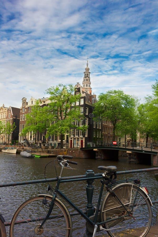 Vecchia Amsterdam, Paesi Bassi fotografia stock