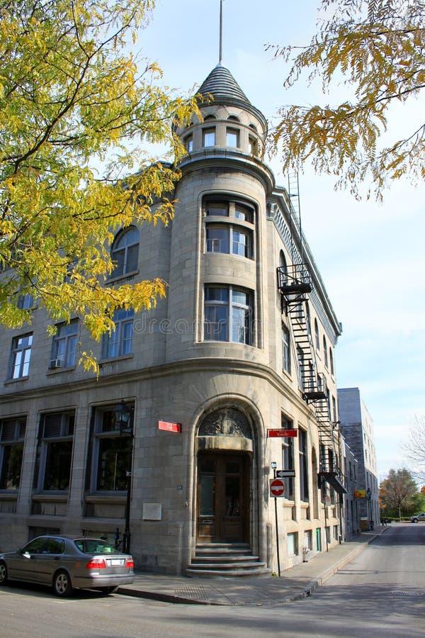 Vecchia architettura di Montreal fotografia stock libera da diritti