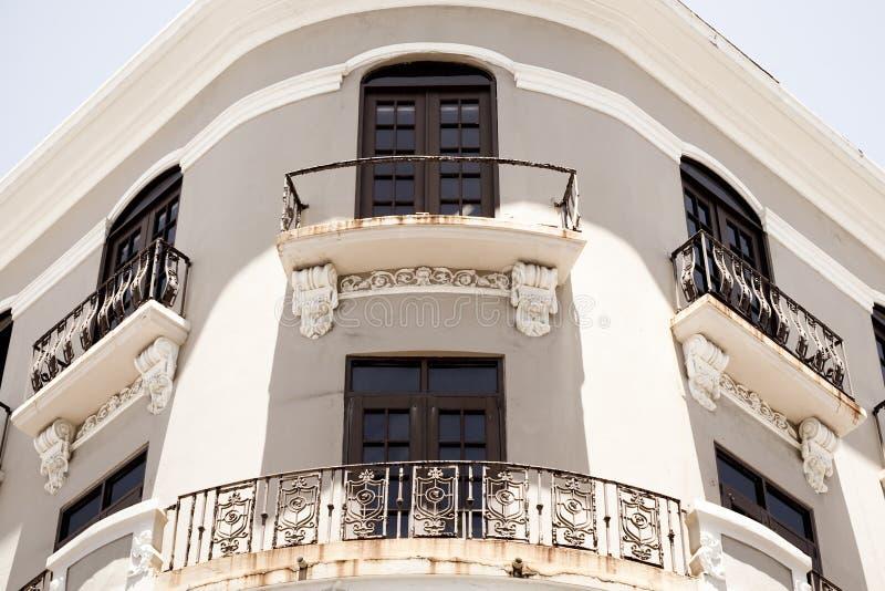 Vecchia architettura di San Juan fotografia stock libera da diritti