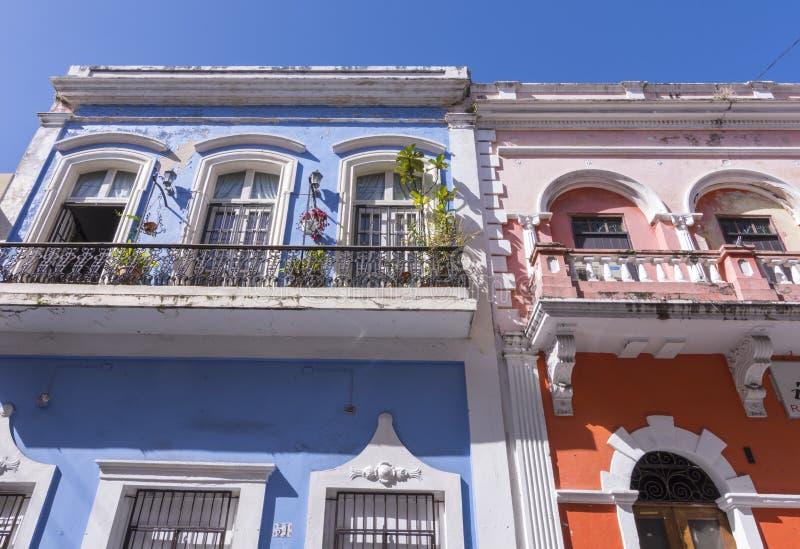 Vecchia architettura di San Juan immagini stock libere da diritti