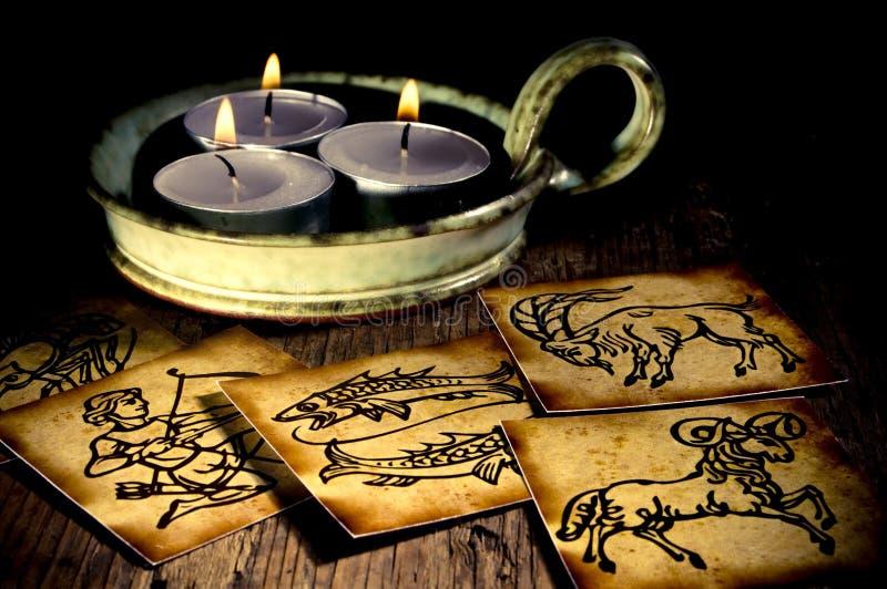 Vecchia astrologia fotografia stock libera da diritti