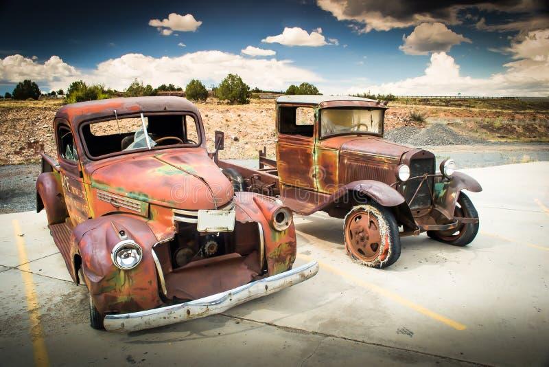 Vecchia automobile immagine stock libera da diritti