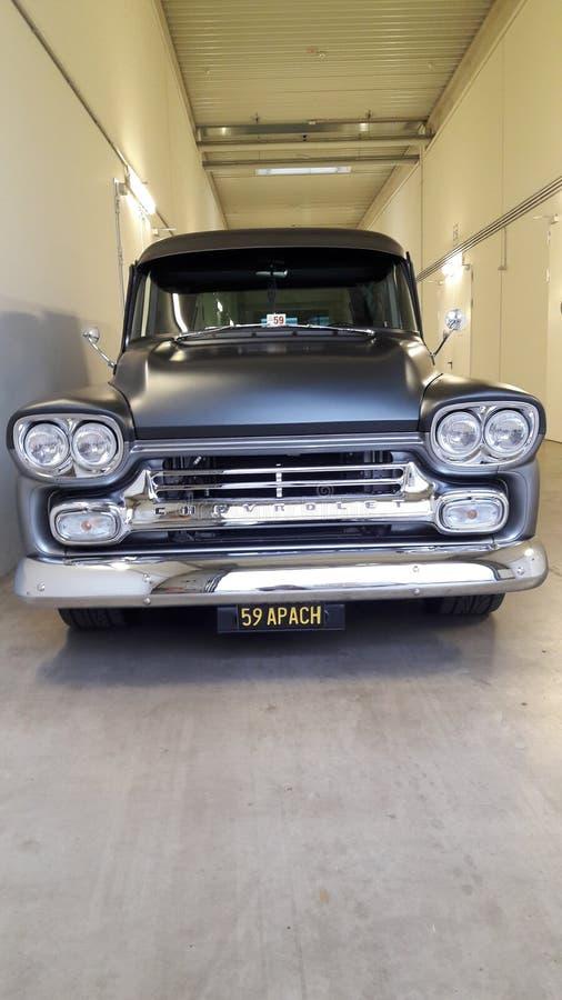 Vecchia automobile il migliore Corridoio grigio immagine stock libera da diritti