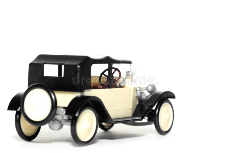 Vecchia automobile Tatra 11 Faeton del giocattolo fotografia stock libera da diritti
