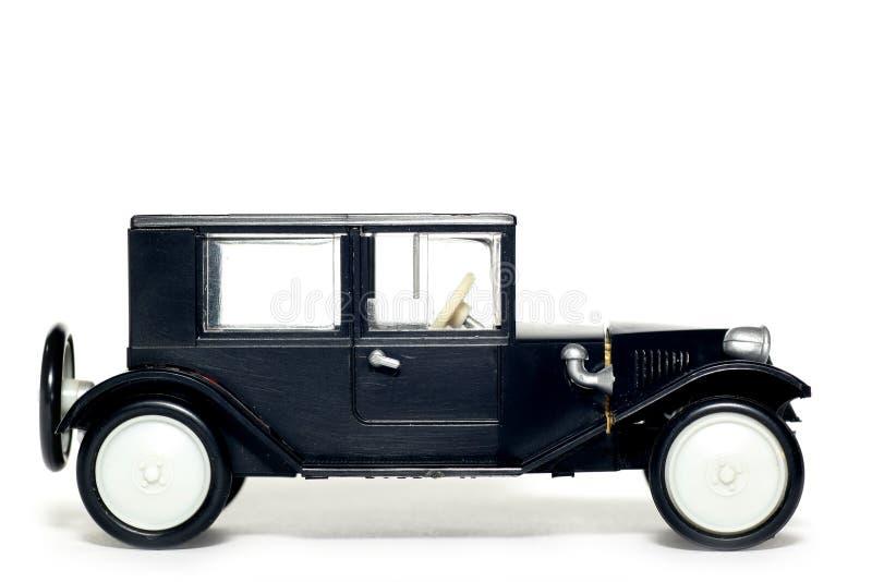 Vecchia automobile Tatra 11 Limusina del giocattolo fotografie stock libere da diritti
