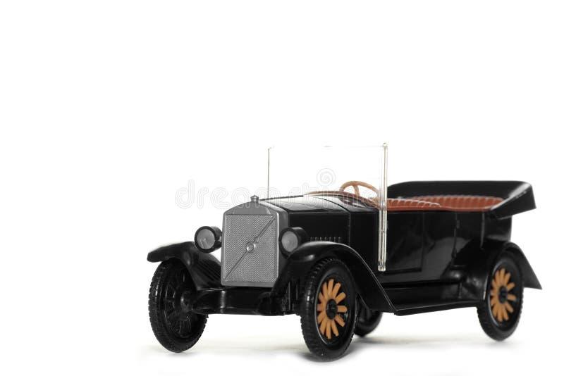 Vecchia automobile Volvo Jakob 1927 del giocattolo fotografia stock