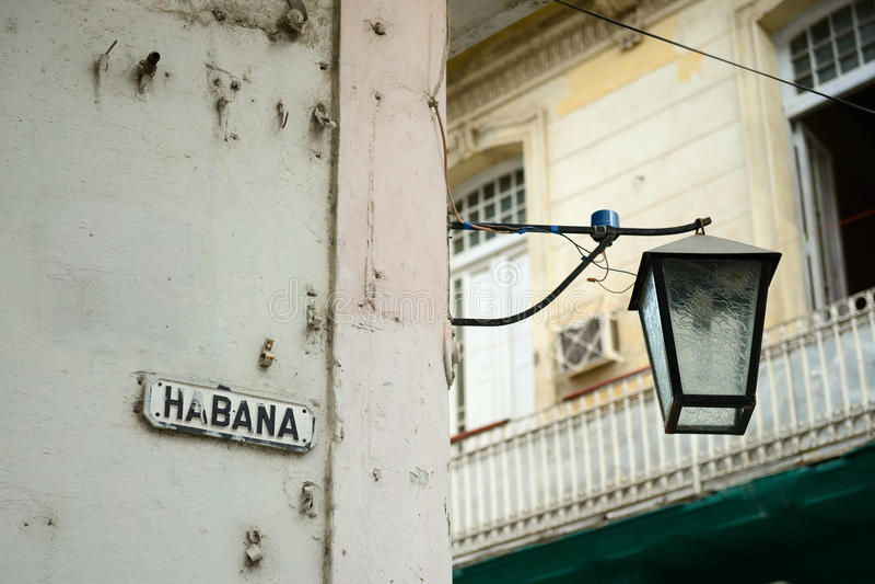 Vecchia Avana fotografia stock