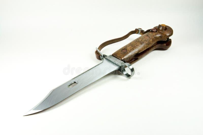 Vecchia baionetta dell'esercito fotografia stock libera da diritti
