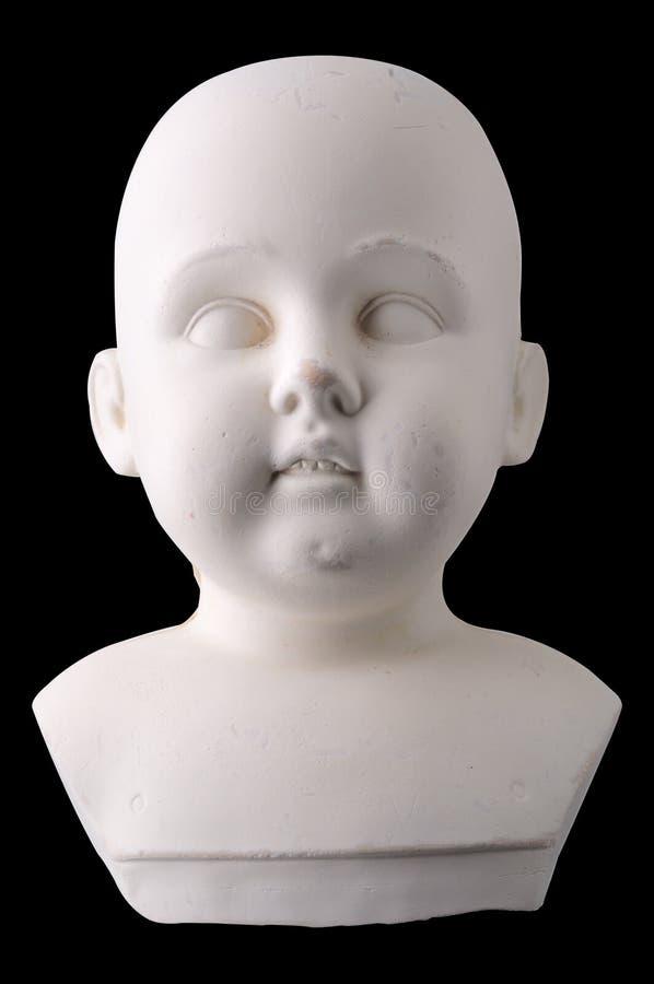 Vecchia bambola non finita immagine stock libera da diritti
