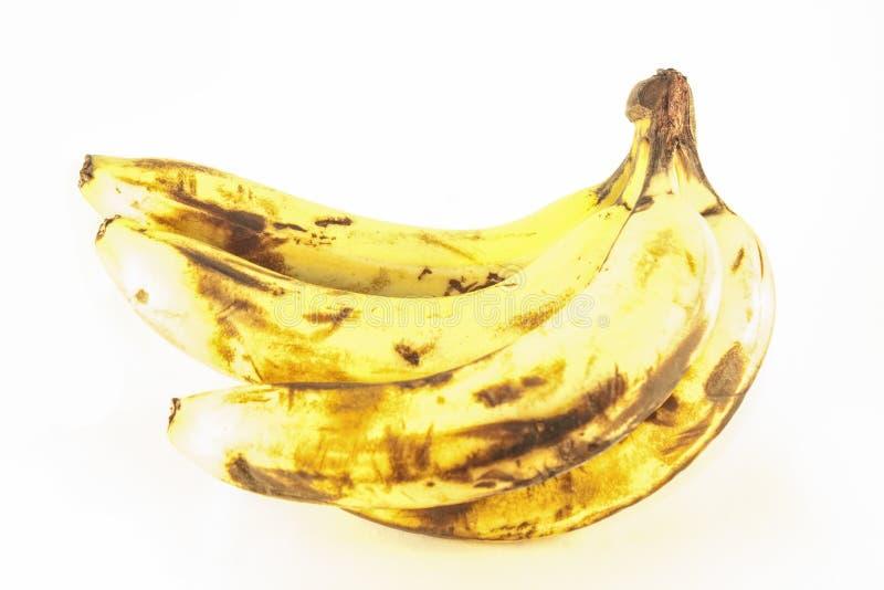 Vecchia banana immagine stock