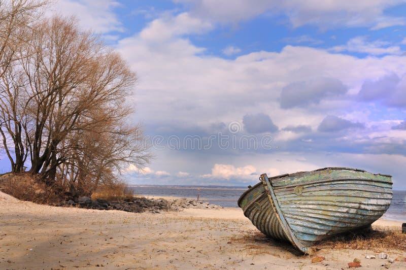 Vecchia barca immagini stock libere da diritti