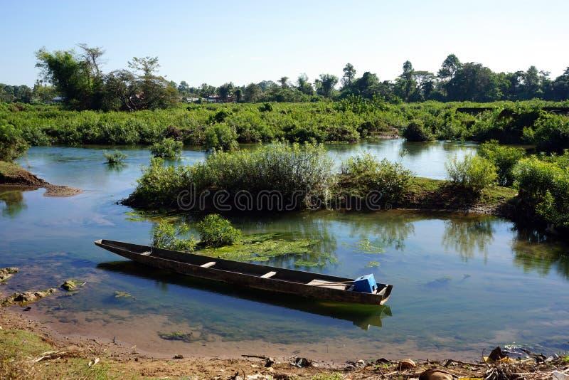 Vecchia barca di legno immagini stock libere da diritti