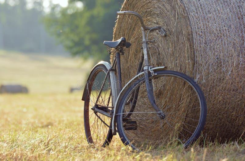 Download Vecchia Bicicletta Con La Balla Di Fieno Con Retro Effetto Fotografia Stock - Immagine di festa, concetti: 56889432