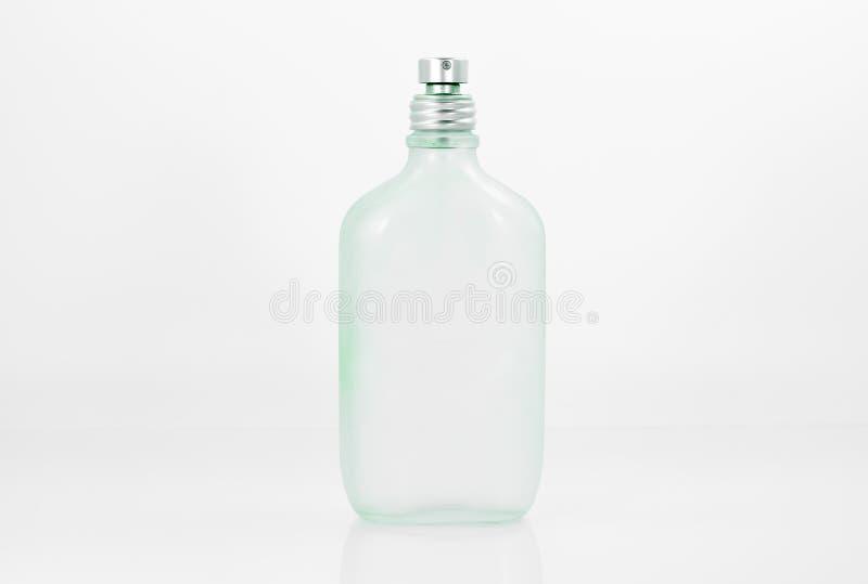 Vecchia bottiglia di profumo di vetro immagine stock