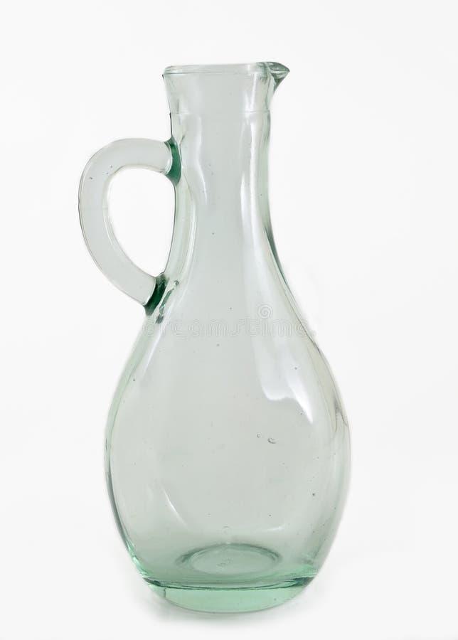 Vecchia bottiglia di vetro fotografie stock