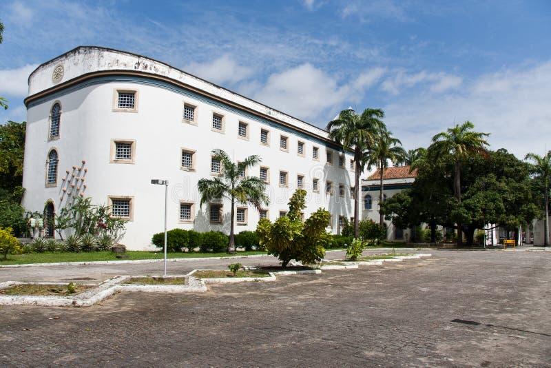 Vecchia Camera della prigione in Recife Brasile fotografie stock libere da diritti