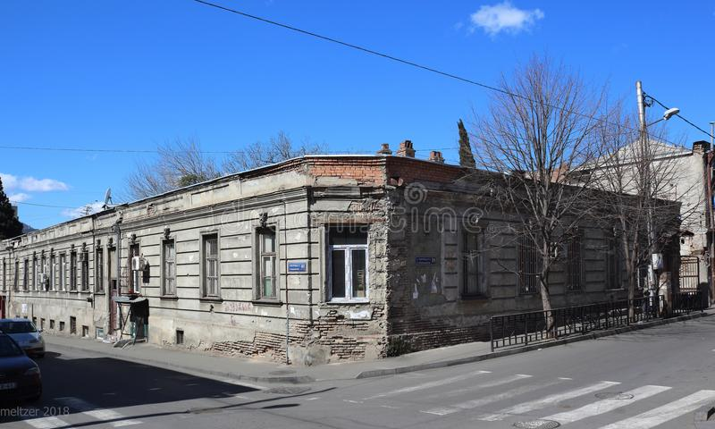 Vecchia Camera a Tbilisi fotografie stock