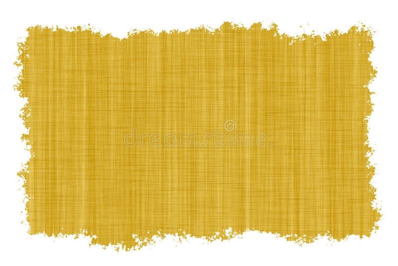 Vecchia carta pergamena in bianco illustrazione di stock