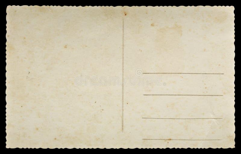 Vecchia cartolina immagine stock libera da diritti
