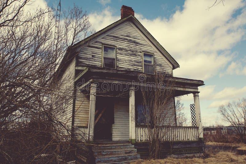 Vecchia casa immagine stock