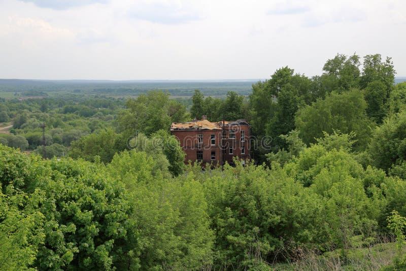 Vecchia casa abbandonata immagine stock
