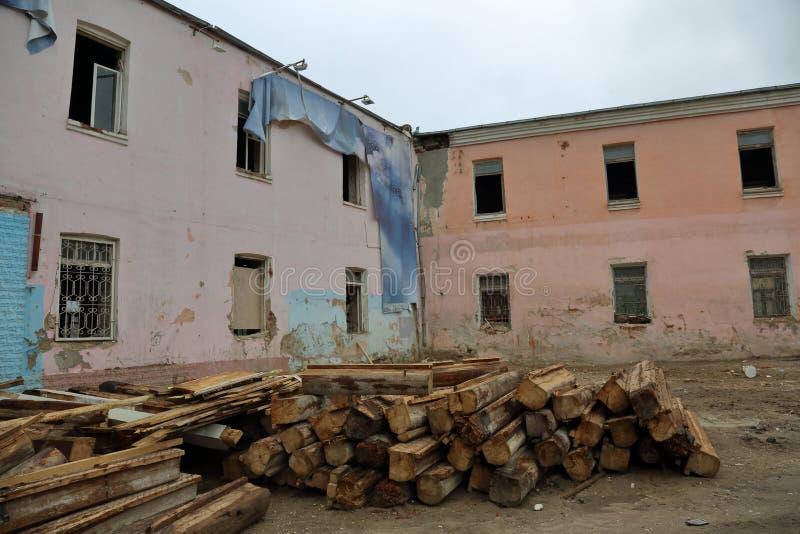 Vecchia casa abbandonata fotografie stock libere da diritti