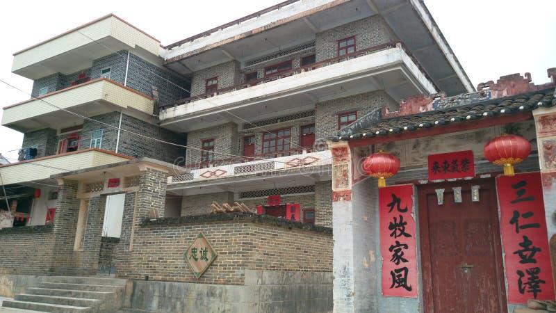 Vecchia casa in Cina fotografia stock libera da diritti