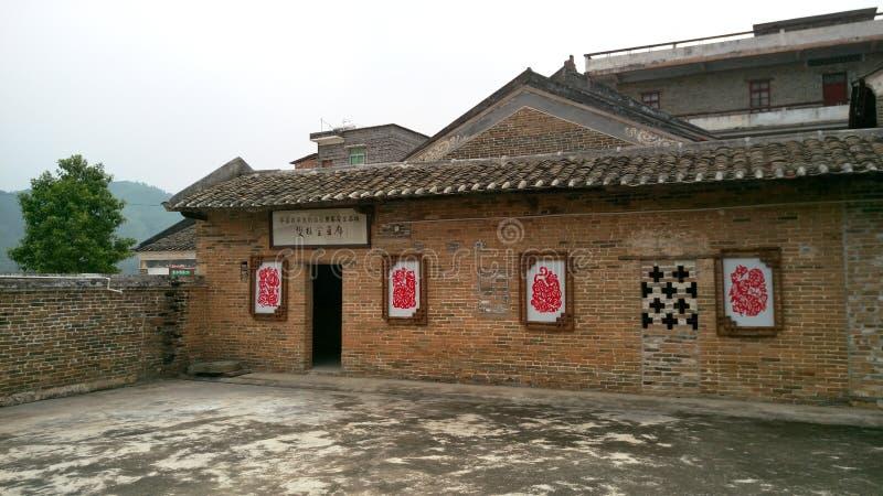 Vecchia casa in Cina fotografie stock