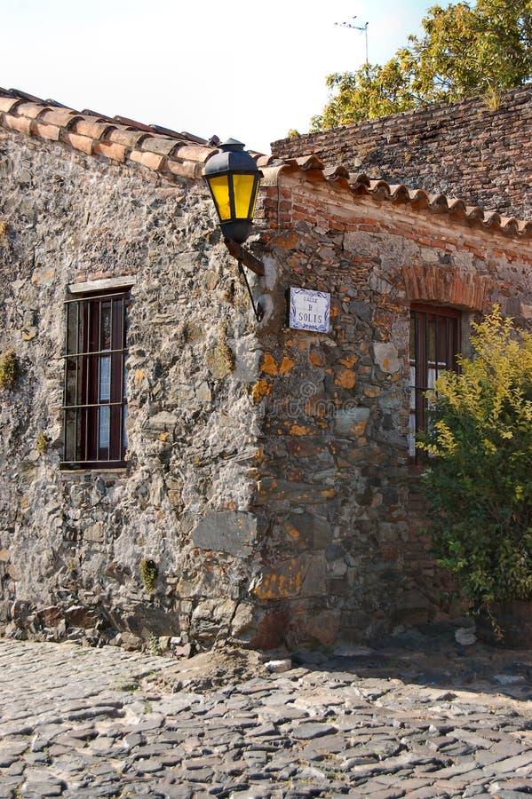 Vecchia casa coloniale immagine stock libera da diritti