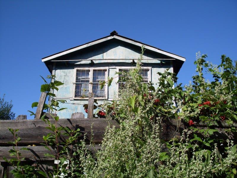 Vecchia casa di horor fotografie stock libere da diritti