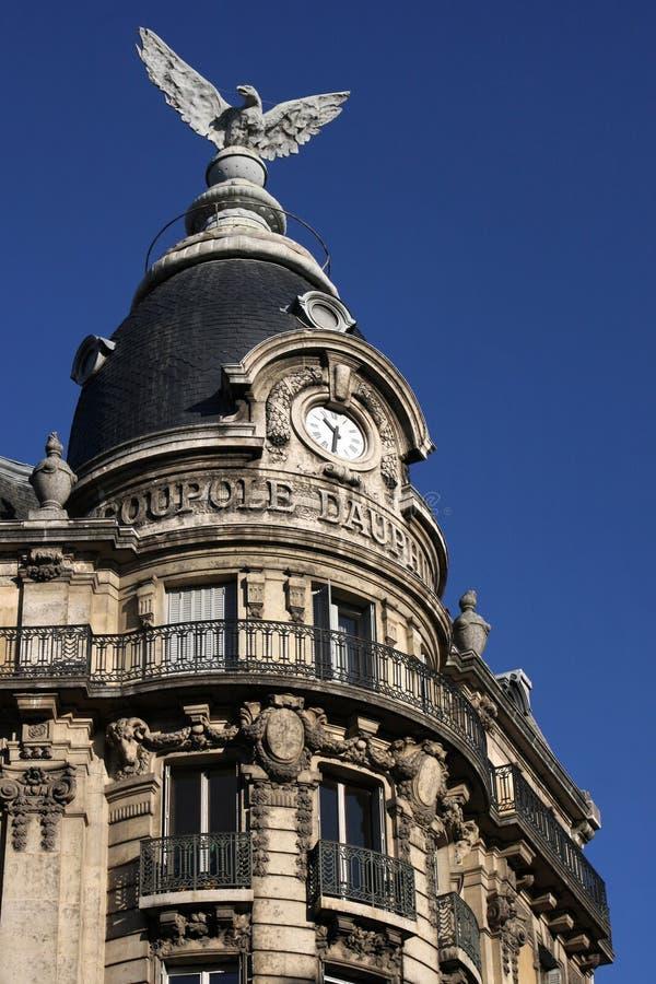 Vecchia casa a Grenoble immagini stock libere da diritti