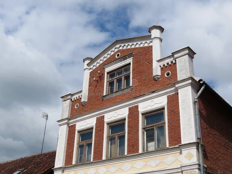 Vecchia casa, Latvia fotografie stock libere da diritti