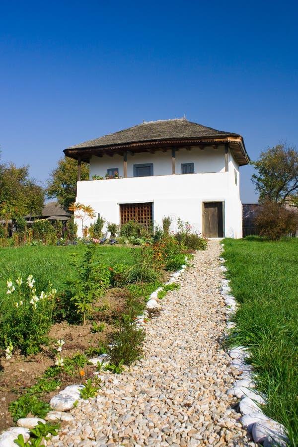 Vecchia casa in Romania fotografia stock libera da diritti