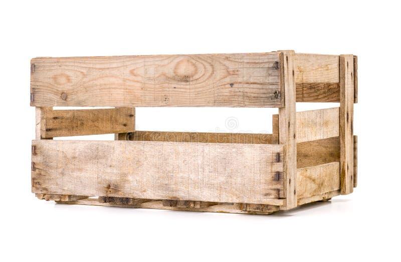 Vecchia cassa di legno del vino fotografia stock libera da diritti