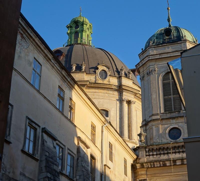 Vecchia cattedrale immagini stock