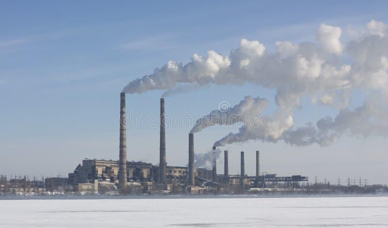Vecchia centrale elettrica immagini stock libere da diritti