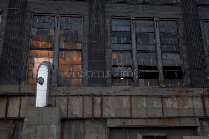 Vecchia centrale elettrica fotografia stock libera da diritti