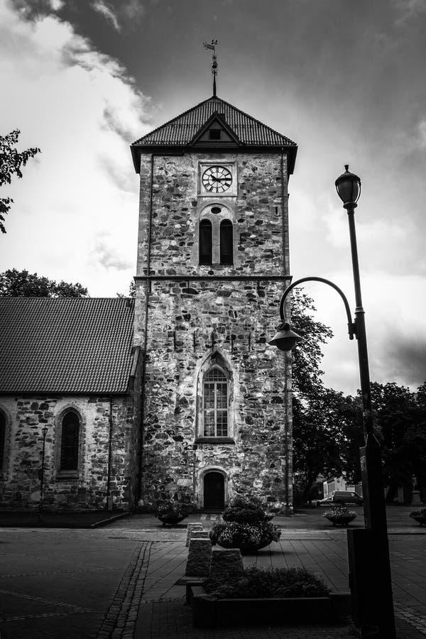 Vecchia chiesa fotografie stock