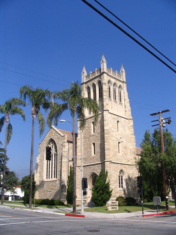 Vecchia chiesa California immagini stock