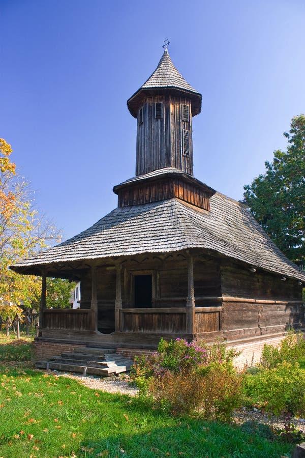 Vecchia chiesa dalla Romania fotografia stock