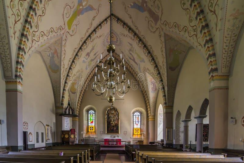 Vecchia chiesa di pietra immagine stock
