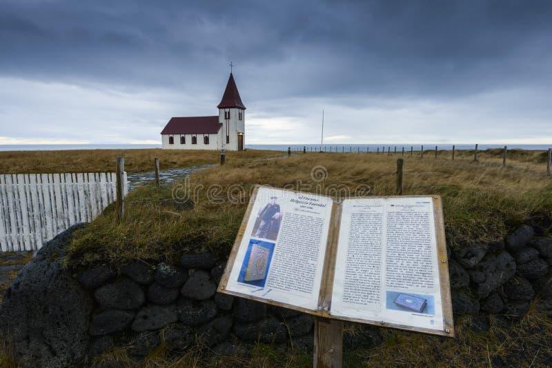 Vecchia chiesa e la sua storia immagini stock