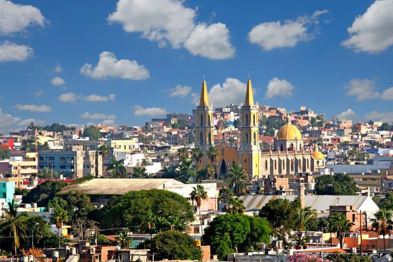 Vecchia chiesa in Mazatlan fotografia stock libera da diritti